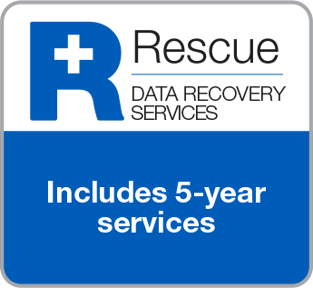 Rescue Data Recovery Services includes 5 Year Services